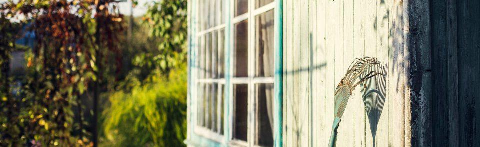 Comment (re)peindre son abri de jardin ?